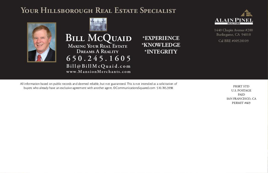 Bill McQuaid Market Update