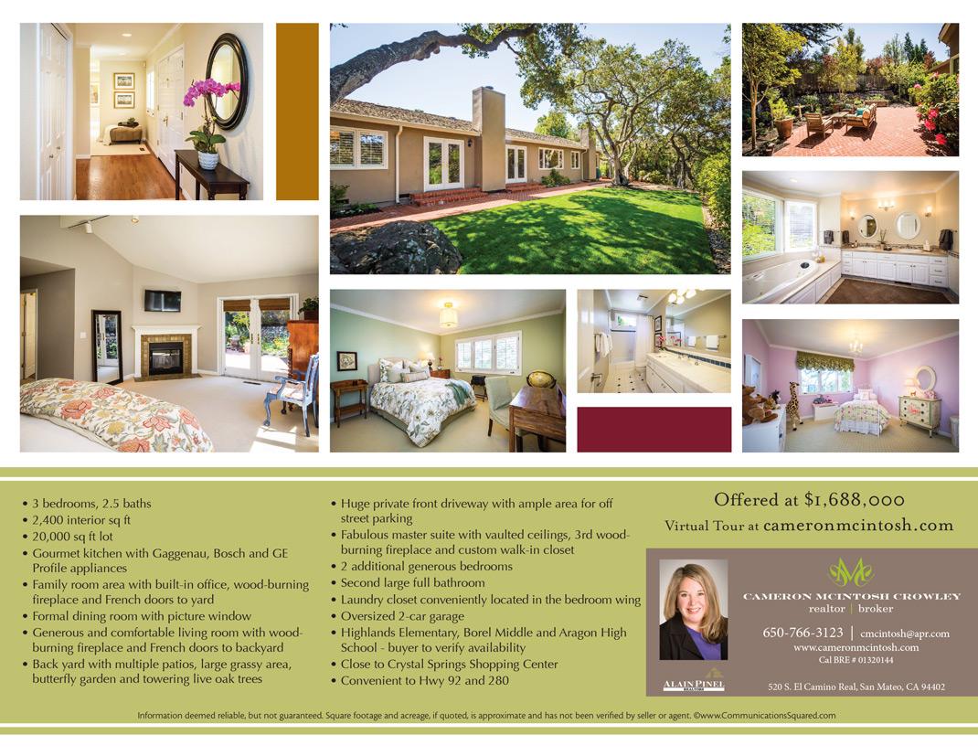 Cameron Crowley Property flyer