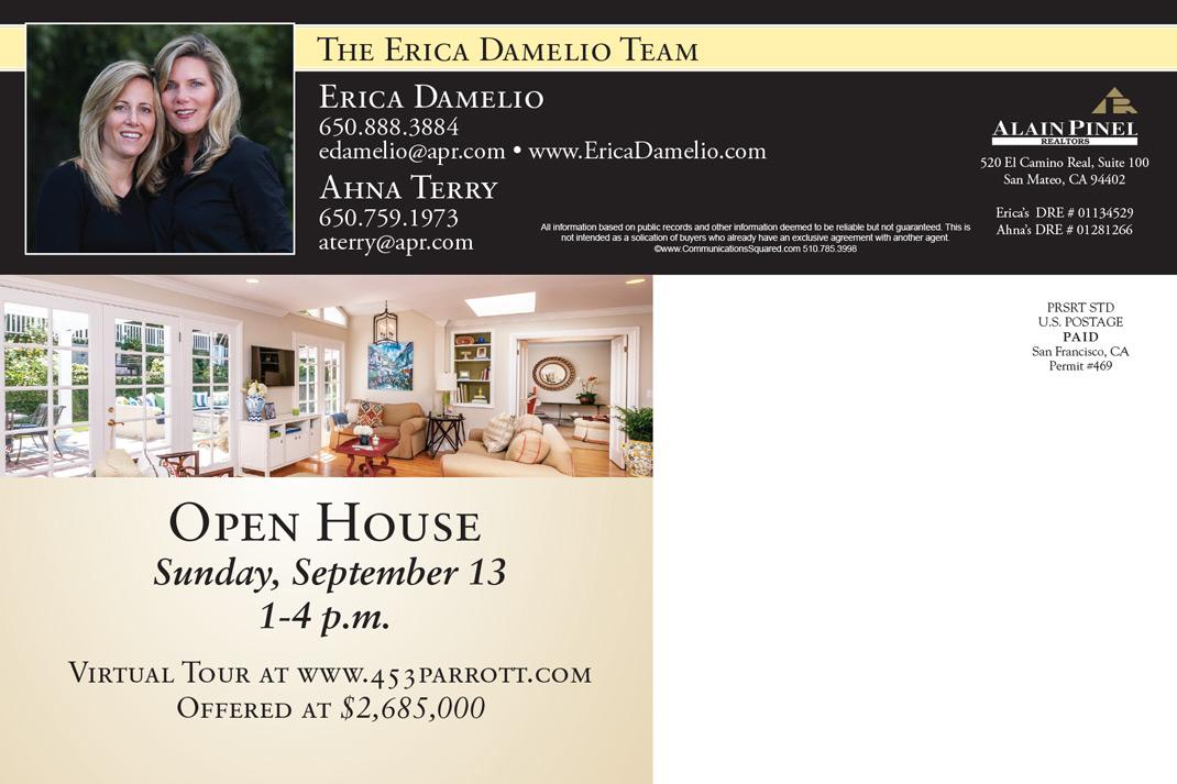 Erica Damelio Team Postcard