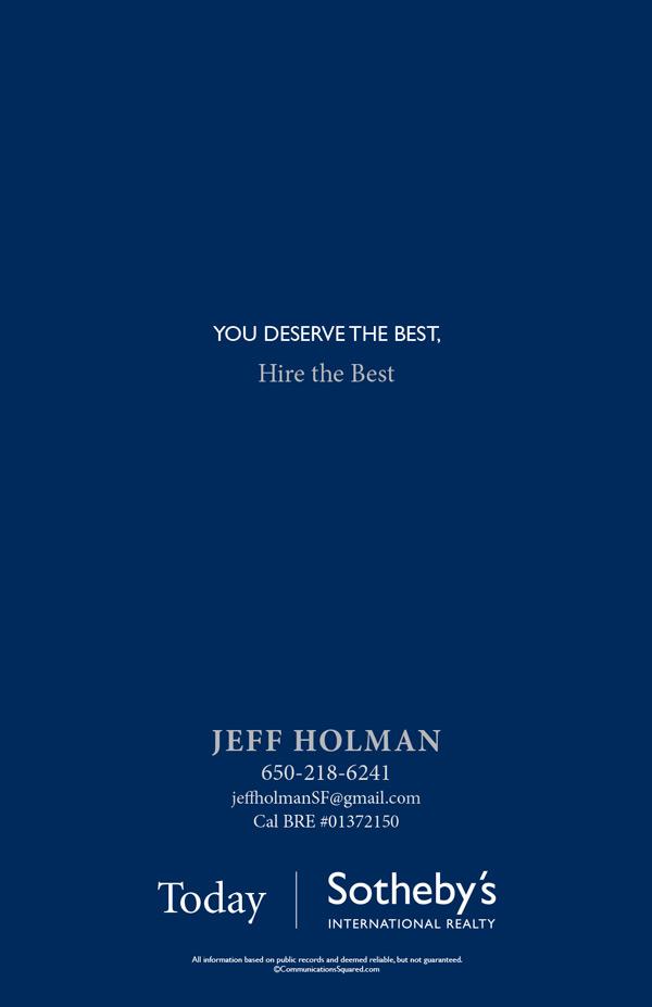 Jeff Holman Personal Brochure