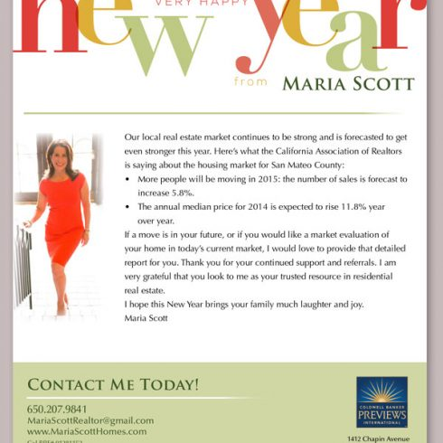 Maria Scott Seasonal Email