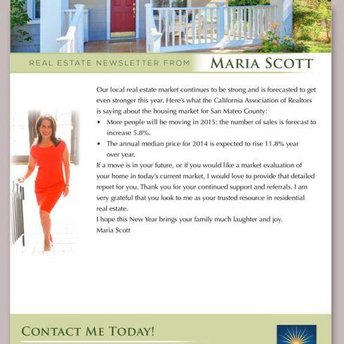 Maria Scott Newsletter