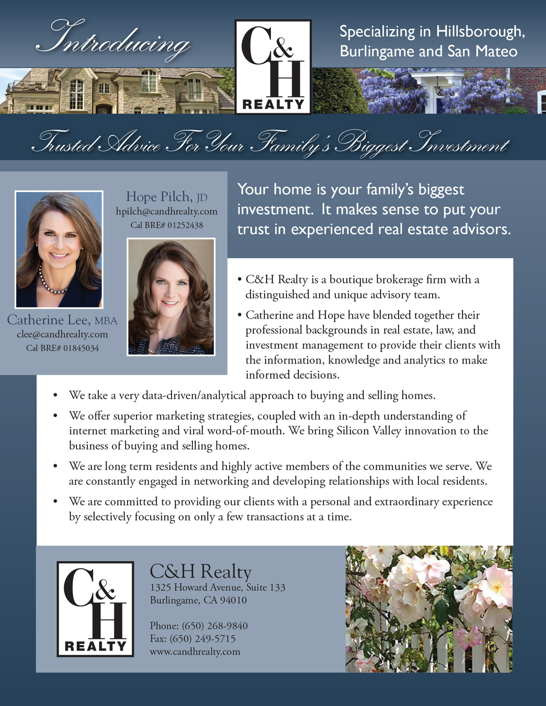 Broker Promotional Flyer