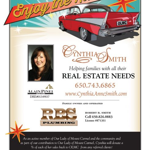 School Auction Program Ad - Cynthia Smith