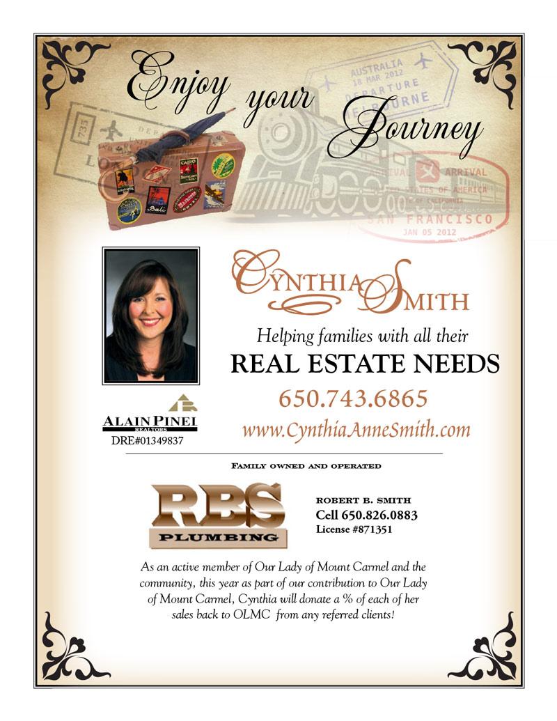 Cynthia Smith Program Ad