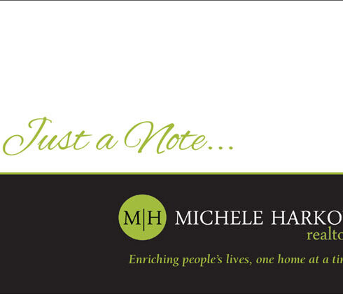 Michele Harkov Notecard