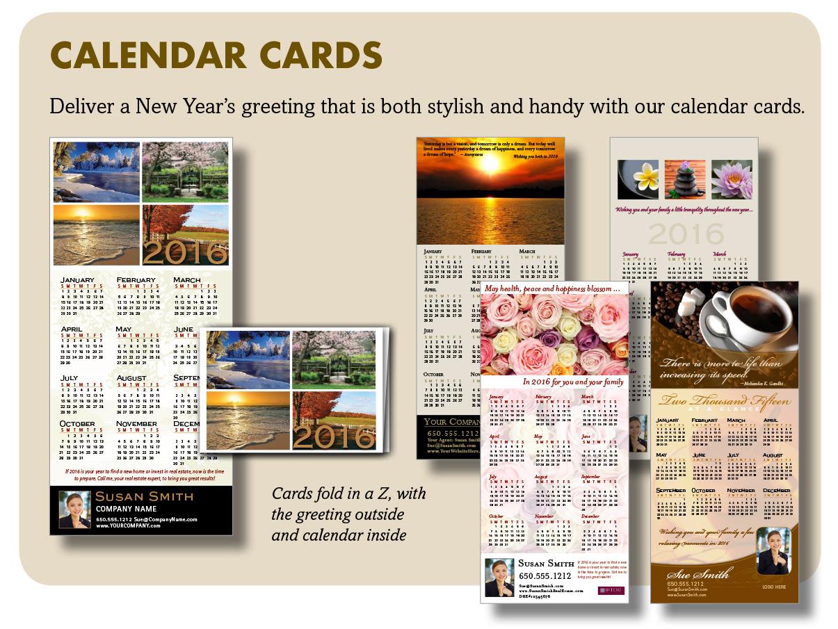 Calendar Cards 2015