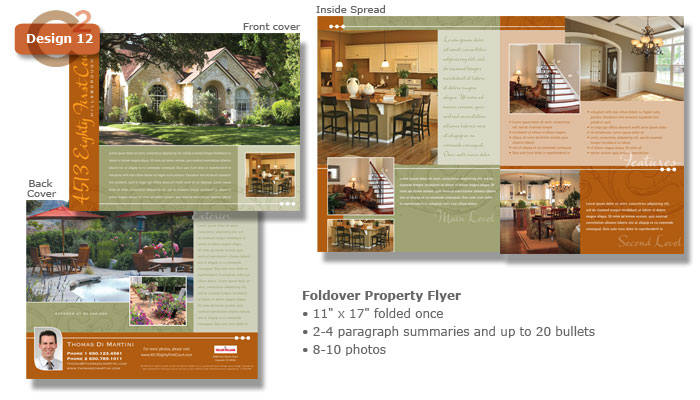 Templates Communications Squared - Property brochure template
